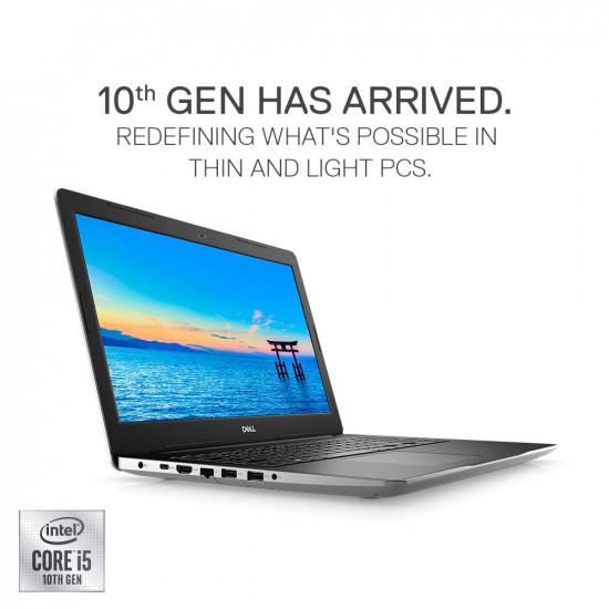 DELL Inspiron 3593 10th Gen Core i5-1035G1/4GB/1TB HDD + 256GB SSD/Windows 10