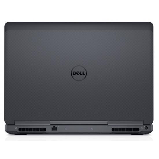 "Dell Precision 7520 Mobile Workstation: 15"" Intel Core i7 6th Generation I 16GB RAM I 2TB HDD+256GB SSD I  NVIDIA Quadro M1200 with 4GB GDDR5 dedicated memory I 2.75Kg I Black"