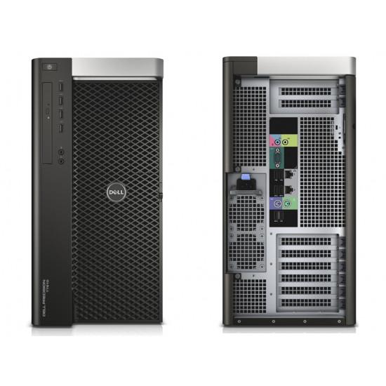Dell Precision T7610 workstation Intel Xeon E5 2650v2 Dual Processor I 64GB RAM I 512GB SSD+2TB HDD I AMD Radeon RX 580 4GB GDDR5 Graphics With HP USB Optical Wired Mouse/Keyboard I HP EliteDisplay E222 21.5-inch IPS FHD Monitor