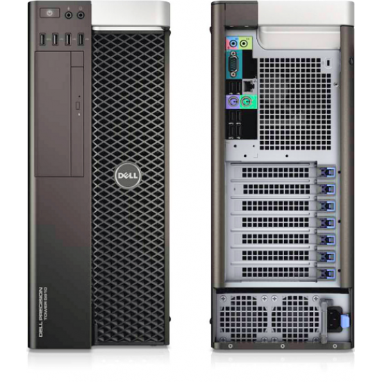 Renewed Dell Precision Tower 5810 workstation : Intel Xeon E5 1650v3 -Accelerated with NVIDIA Quadro Graphics.
