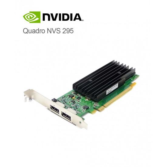 (Renewed) GF-NVIDIA QUADRO NVS 295: 256MB GDDR3 GPU memory