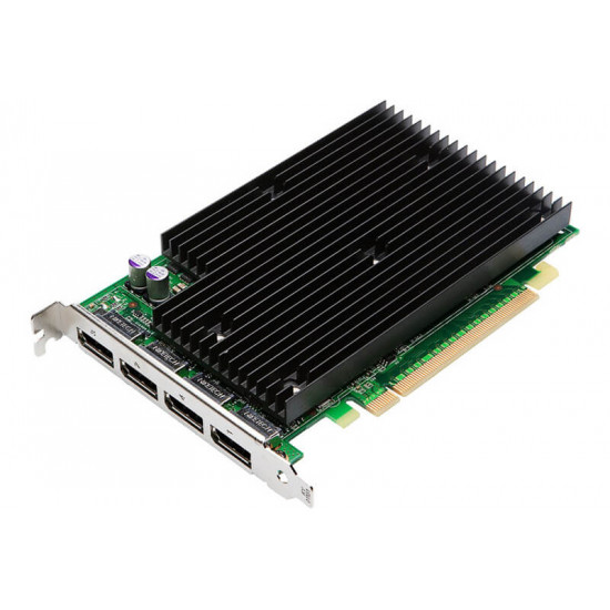 (Renewed) GF-NVIDIA QUADRO NVS 450: 512MB GDDR3 GPU memory, 16 CUDA PARALLEL PROCESSING CORES