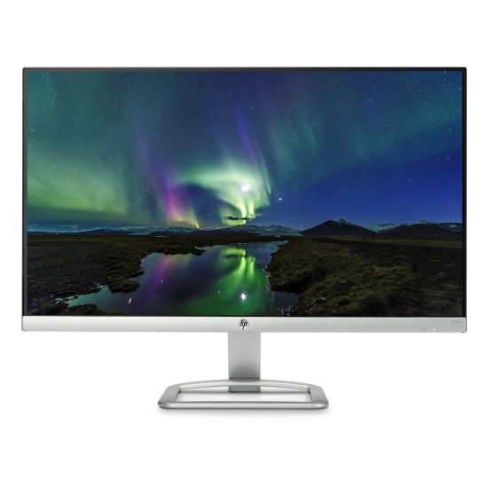 HP 24 inch(60.45 cm) Ultra-Thin Edge to Edge LED Backlit Computer Monitor - Full HD, IPS Panel with VGA, HDMI Ports - HP 24es Display - T3M79AA (Silver))