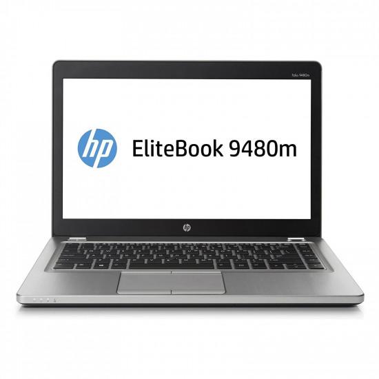 "Renewed HP EliteBook Folio 9480m Ultrabook: 14""- Intel Core i5 4th Generation I 14-Inch HD+ (1600 x 900) I 8 GB RAM I 256 GB SSD I Backlit Keys I Windows 10 Pro I Integrated Graphics I Silver I 1.6 Kg"