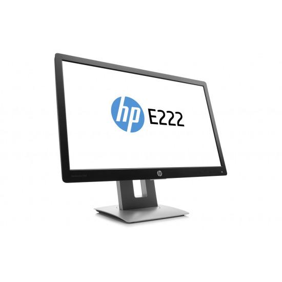 HP EliteDisplay E222 21.5-inch IPS Full HD Anti-glare Monitor with VGA (Black)
