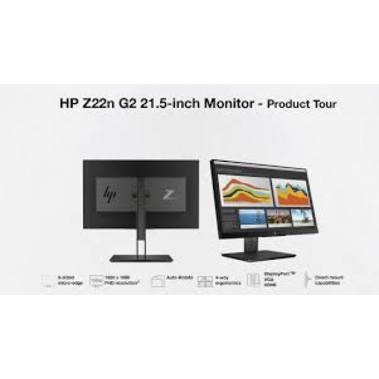 used, Refurbished, HP Z22n G2 21.5-inch Display