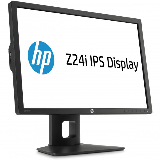 used, Refurbished,  HP Z Display Z24i 24-inch IPS LED Backlit Monitor