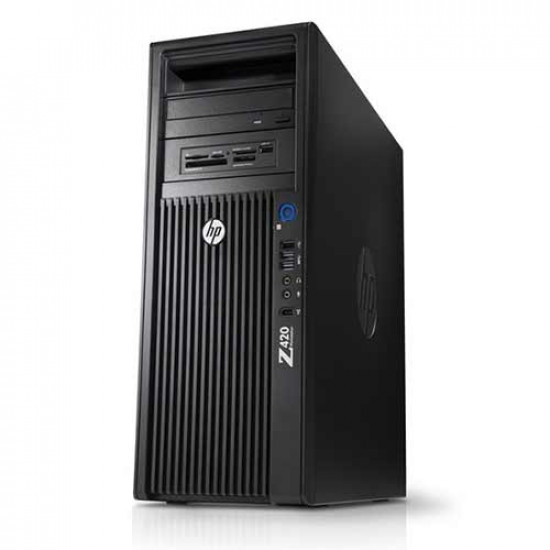 (Renewed) HP Z420 Workstation : Intel Xeon Quad Core E5 1620-Accelerated with NVIDIA Quadro Graphics.