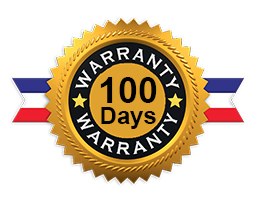 100 Days Supplier Backed Warranty