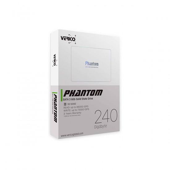 Verico Phantom 240GB 3D NAND SATA 2.5-inch SSD